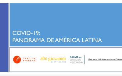 Medidas Covid-19 adoptadas en Argentina, Brasil, Chile y Perú. (inglés)