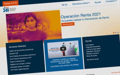 MEDIDAS ANUNCIADAS POR EL SII A RAÍZ DE LA OPERACIÓN RENTA 2021